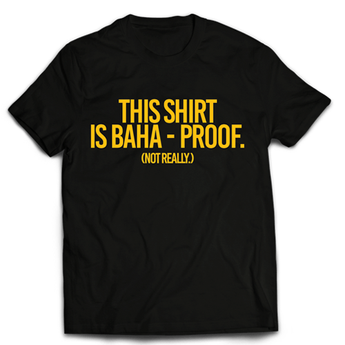 Baha Proof Black Cotton Shirt