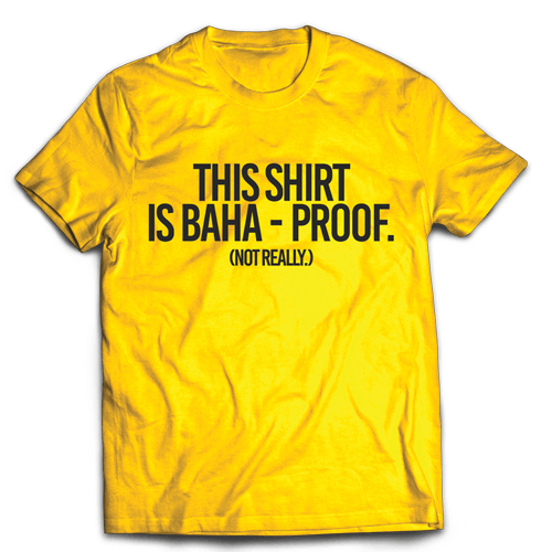 Baha Proof Yellow Cotton Shirt