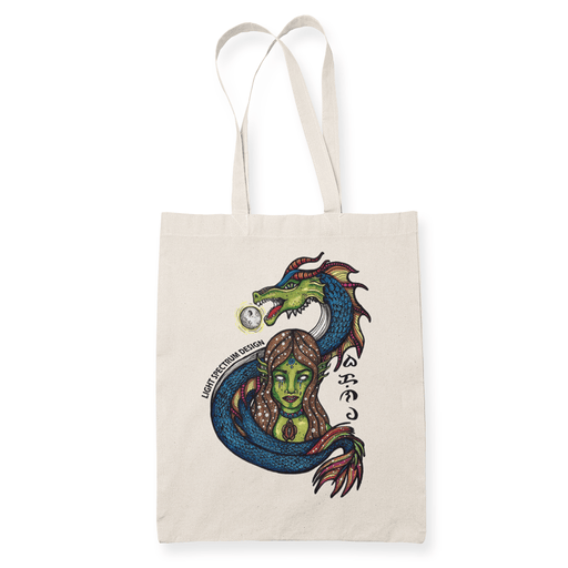 Bakunawa Sublimation Canvass Tote Bag