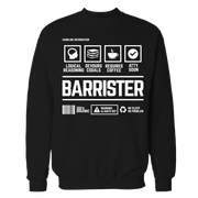 Barrister v2 Handling Black Cotton Shirt