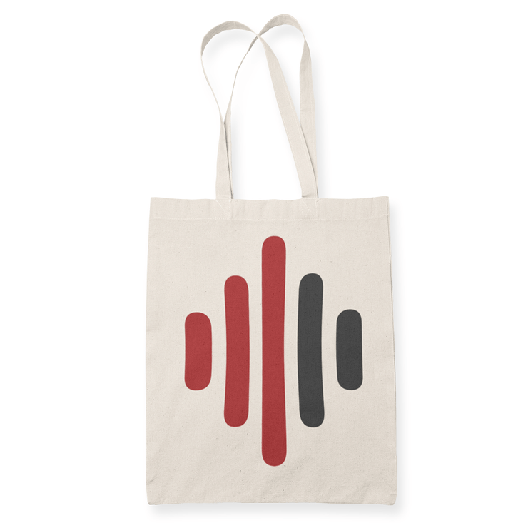 CCP BARS Sublimation Canvass Tote Bag