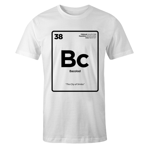 Periodic Table Series - Bacolod Cotton Shirt