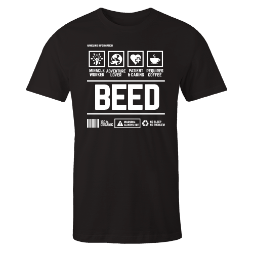 BEED Handling Black Cotton Shirt