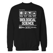 Biological Science Handling Black Cotton Shirt