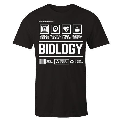 Biology v1 Handling Black Cotton Shirt