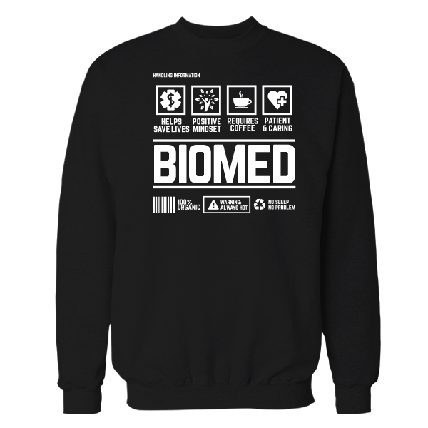 Biomed Handling Black Cotton Shirt