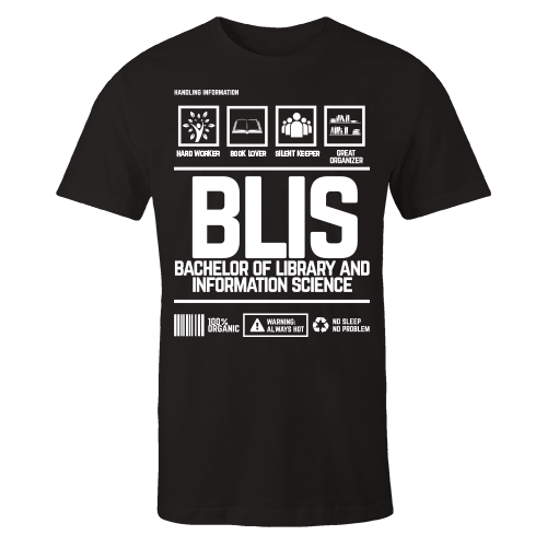BLIS Handling Black Cotton Shirt
