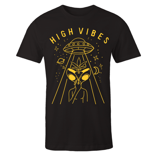 Space High Black Cotton Shirt