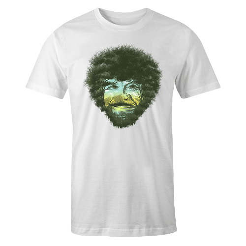 Bob Ross Sublimation Dryfit Shirt