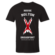 House Bolton Black Cotton Shirt