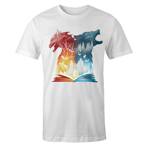 Book of Fire And Ice Sublimation Dryfit Shirt