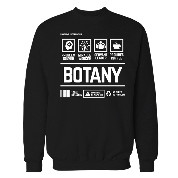 Botany Handling Black Cotton Shirt