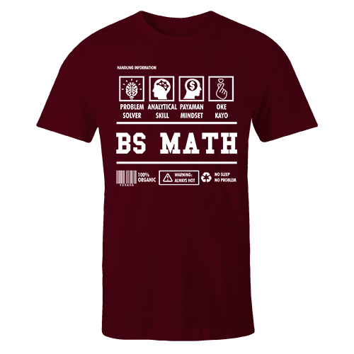 BS Math Cotton Shirt