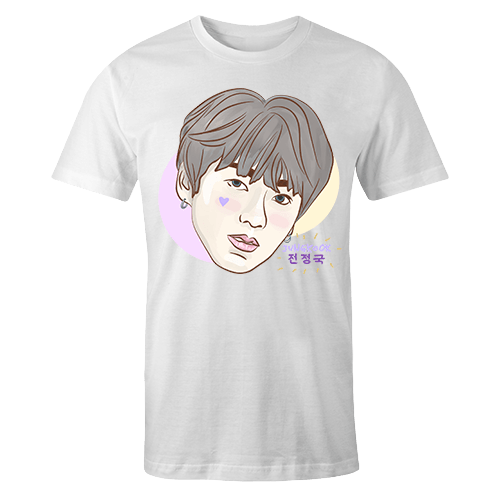 BTS Jungkook Sublimation Dryfit Shirt