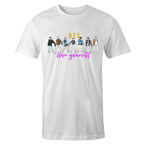 Love Yourself Sublimation Dryfit Shirt