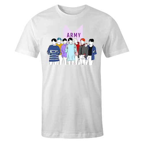BTS Sublimation Dryfit Shirt