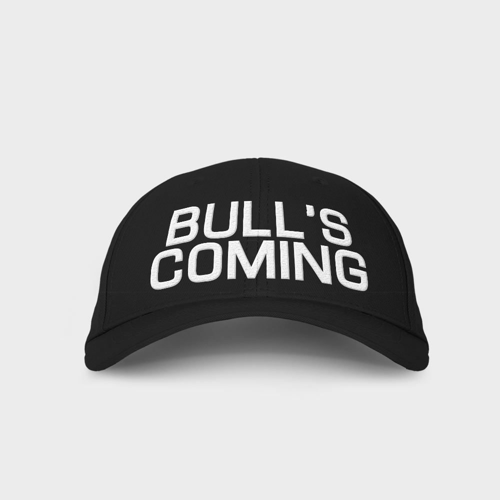 Bulls Coming Embroidered Cap