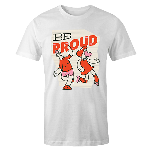 Be Proud Sublimation Dryfit Shirt