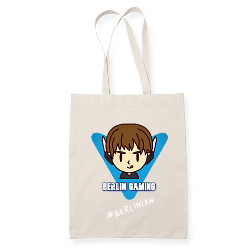 Berlin Gaming 3 Sublimation Canvass Tote Bag