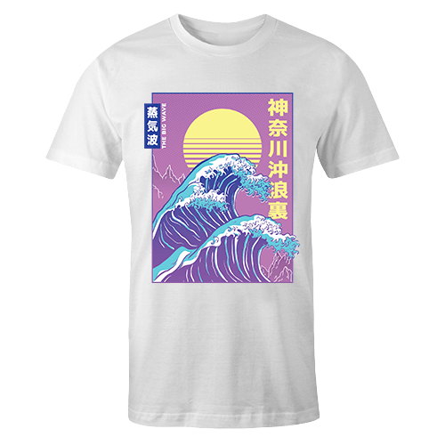 Big Wave Sublimation Dryfit Shirt