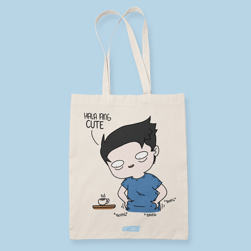 Boing Boing Sublimation Canvass Tote Bag