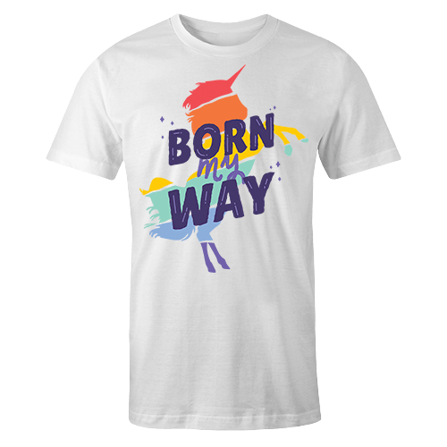 Born My Way Sublimation Dryfit Shirt