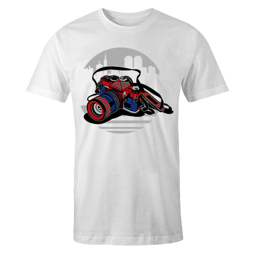 Camera Hero Sublimation Dryfit Shirt