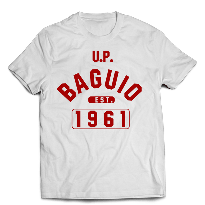 Campus Baguio White Cotton Shirt