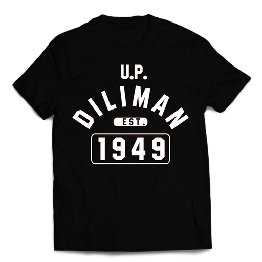 Campus Diliman Black Cotton Shirt