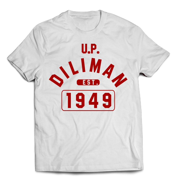 Campus Diliman White Cotton Shirt