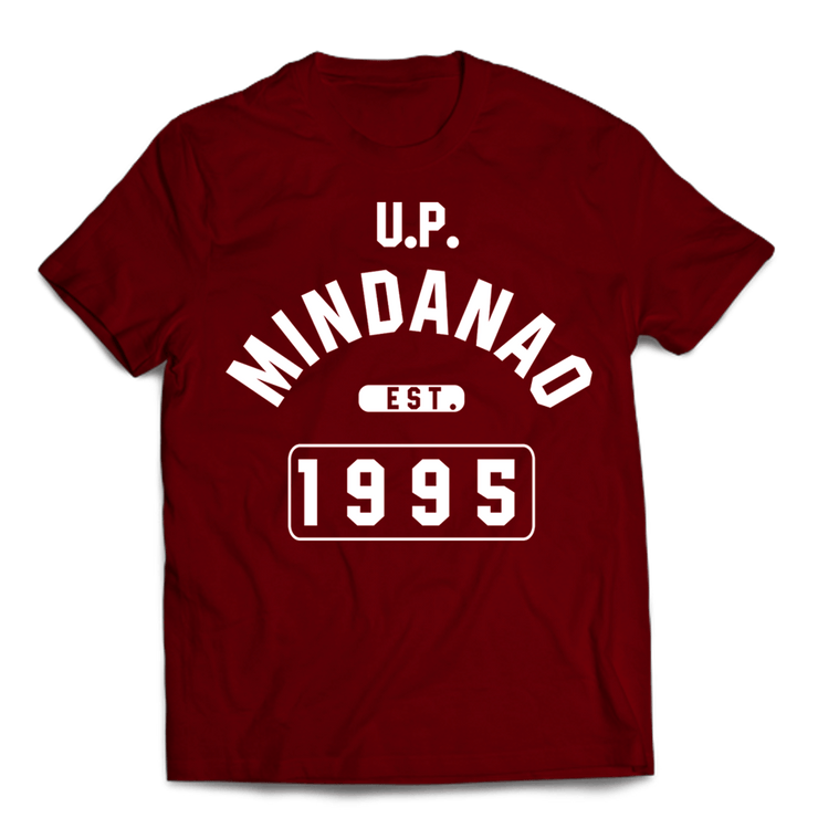 Campus Mindanao Maroon Cotton Shirt