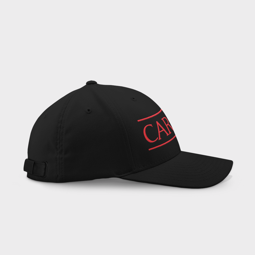 Cardinals Black Embroidered Cap