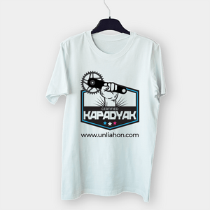 Certified Kapadyak Cotton Sublimation White Shirt