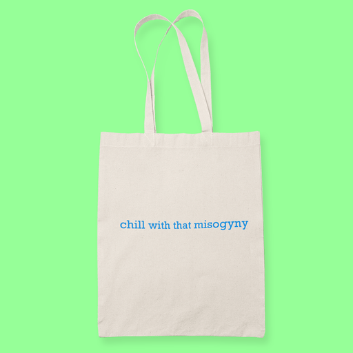 Chill Sublimation Canvass Tote Bag