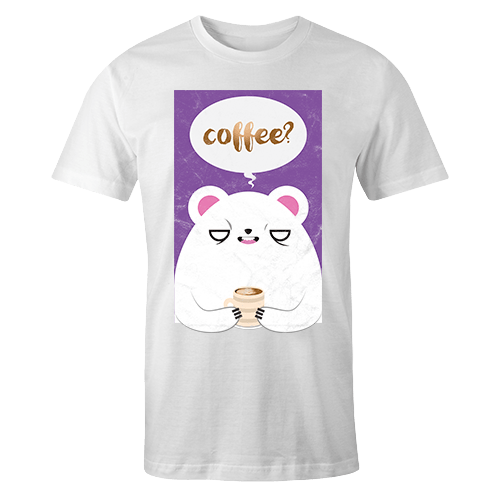 Coffee Sublimation Dryfit Shirt