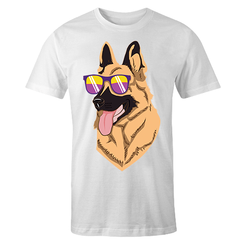 Cool German Shepherd Sublimation Dryfit Shirt