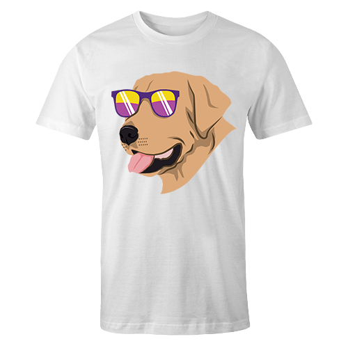 Cool Golden Retriever Sublimation Dryfit Shirt