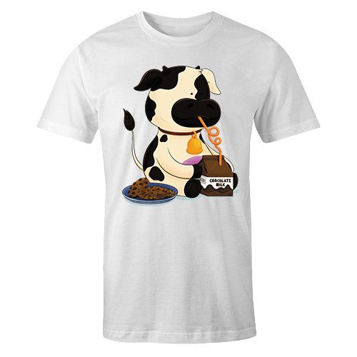 Chocolate Cow Sublimation Dryfit Shirt