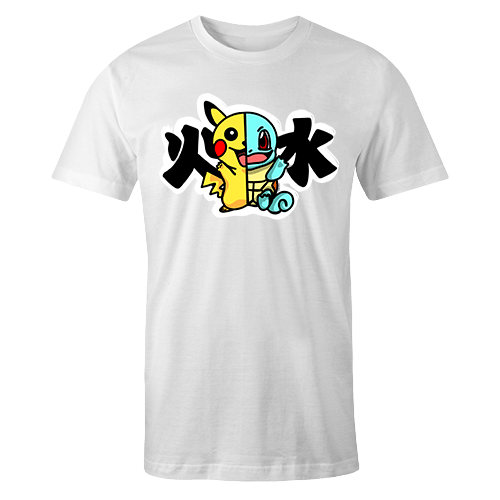 Cute Monster Pika x Squirt Sublimation Dryfit Shirt