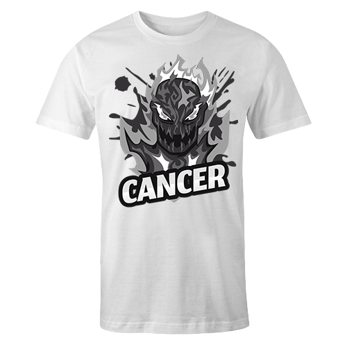 Cancer G5 Sublimation Dryfit Shirt