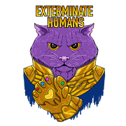 Cat Thanos Sublimation Dryfit Shirt