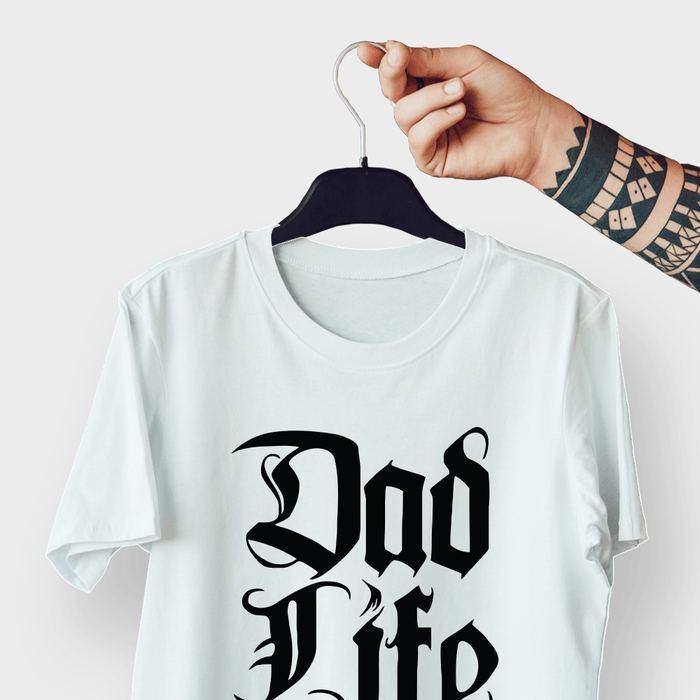 Dad Life G5 White Shirt