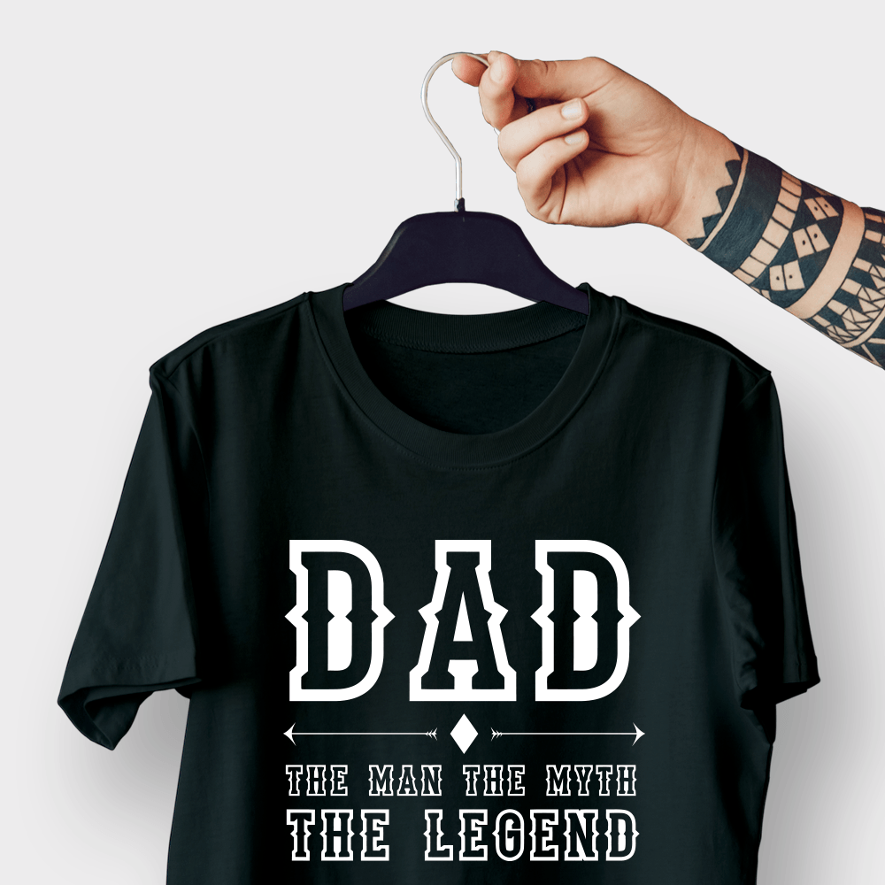 Dad Myth G5 Black Shirt