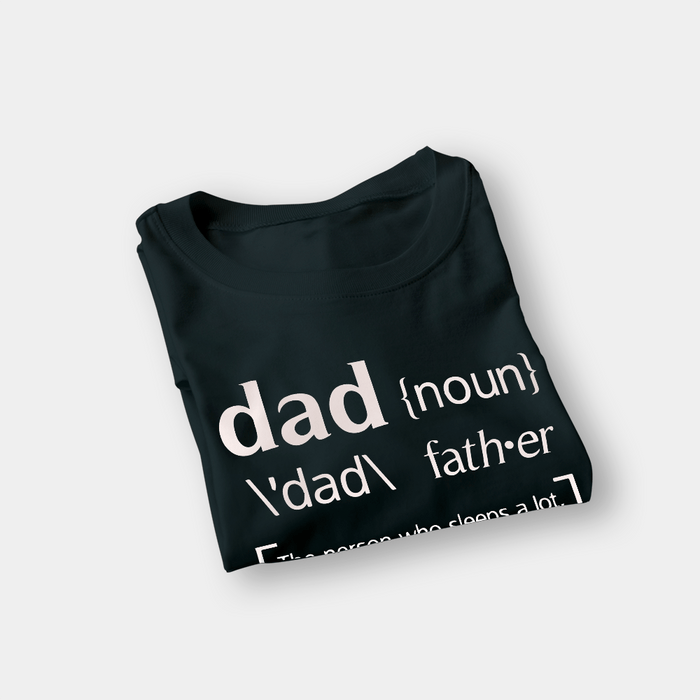Dad Noun G5 Black Shirt