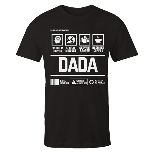 DADA Handling Black Cotton Shirt
