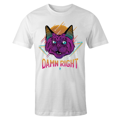 Damn Right Sublimation Dryfit Shirt