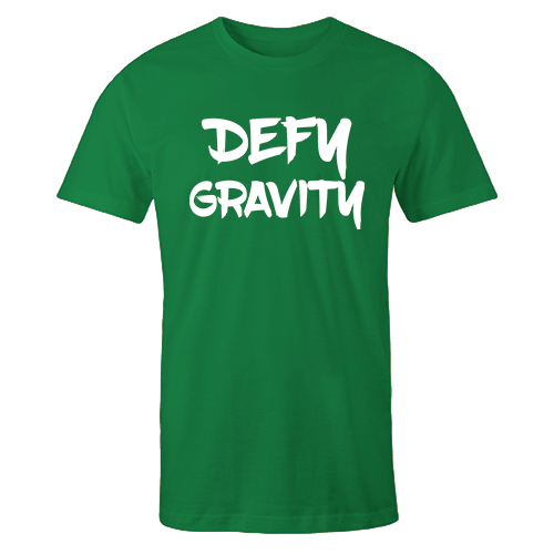 Defy Gravity Green Cotton Shirt