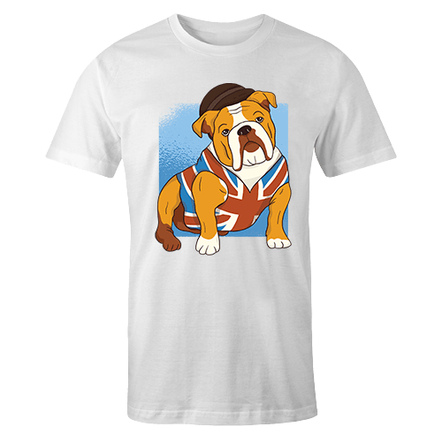 Doggo English Sublimation Dryfit Shirt