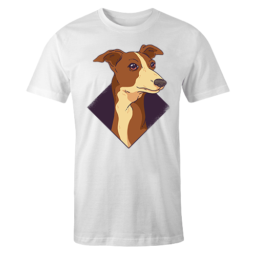 Doggo Whippet Sublimation Dryfit Shirt