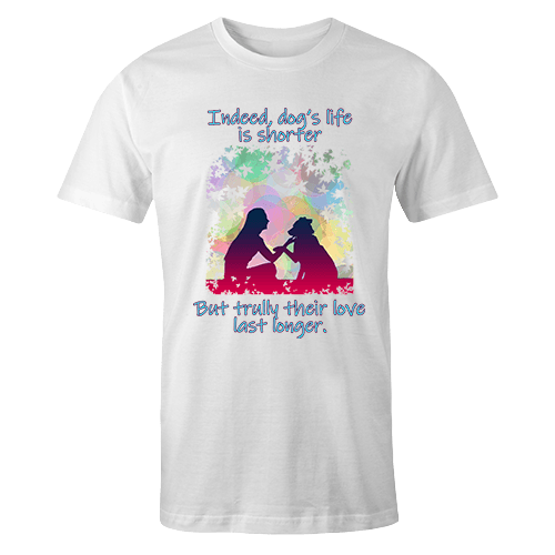 DOGS LASTING LOVE Sublimation Dryfit Shirt